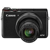 Canon PowerShot G7 X kompakt kamera har en kraftfuld CMOS sensor og en stor blænde til kreativ fotografering i en løsning i lommestørrelse.