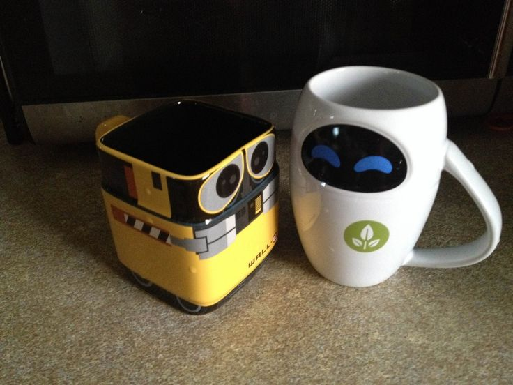 Wall E Eve Mugs And Wall E On Pinterest