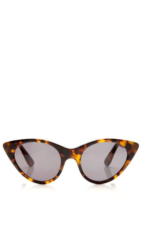 Shop Tortoise Cat Eye Sunglasses by Opening Ceremony - Moda Operandi