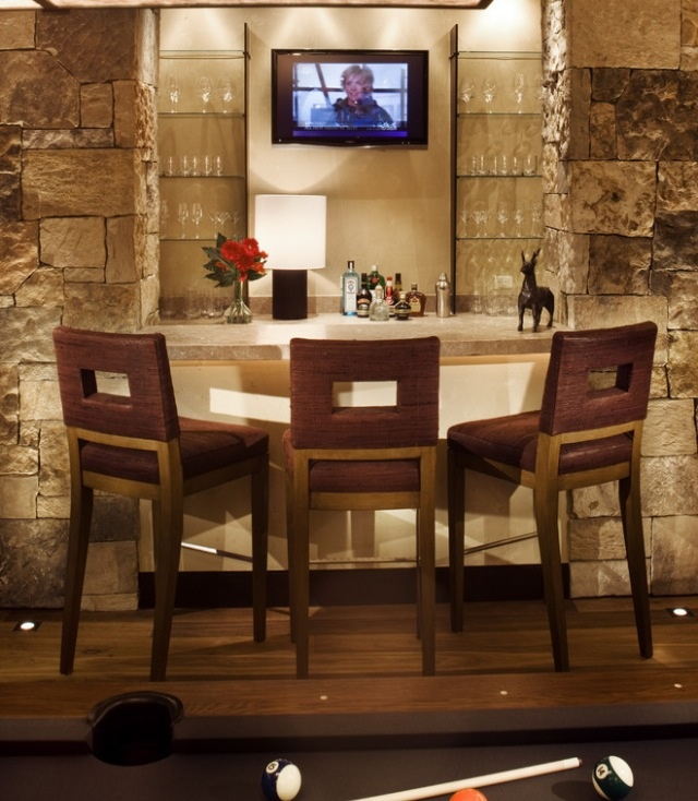 Recreation Room Design Ideas: 14 Best Images About Basement Bar On Pinterest