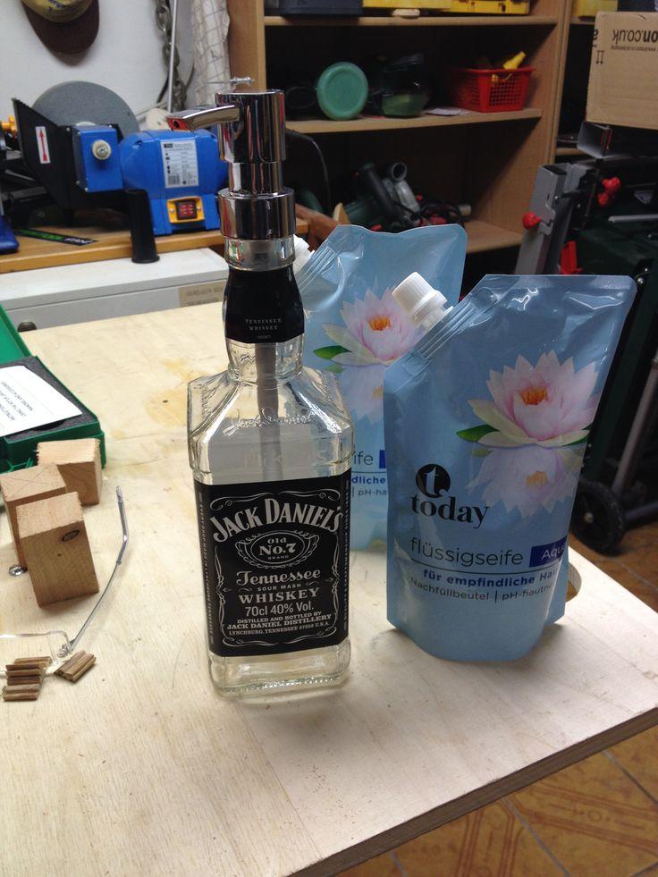 Jack Daniel´s / nicht nur zum Trinken, auch zum Händewaschen...