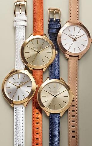 Michael Kors Runaway Gold Dial Midsized Quartz Women's Watch