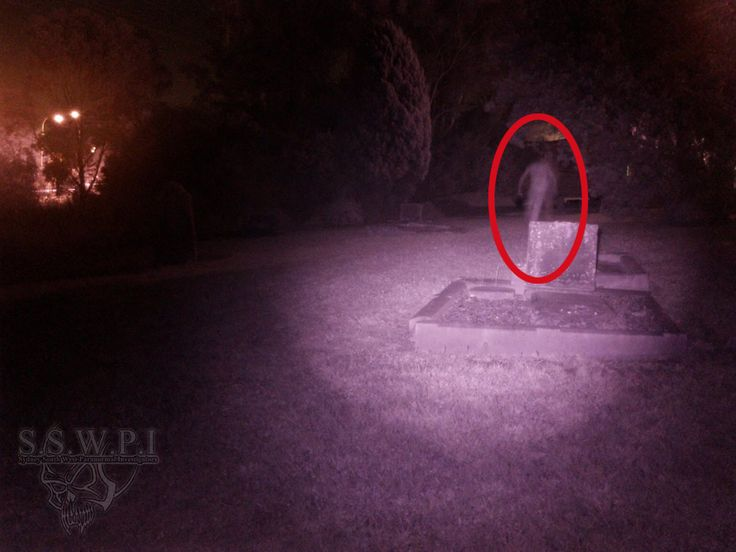 This is a running ghost captured on film!                              …