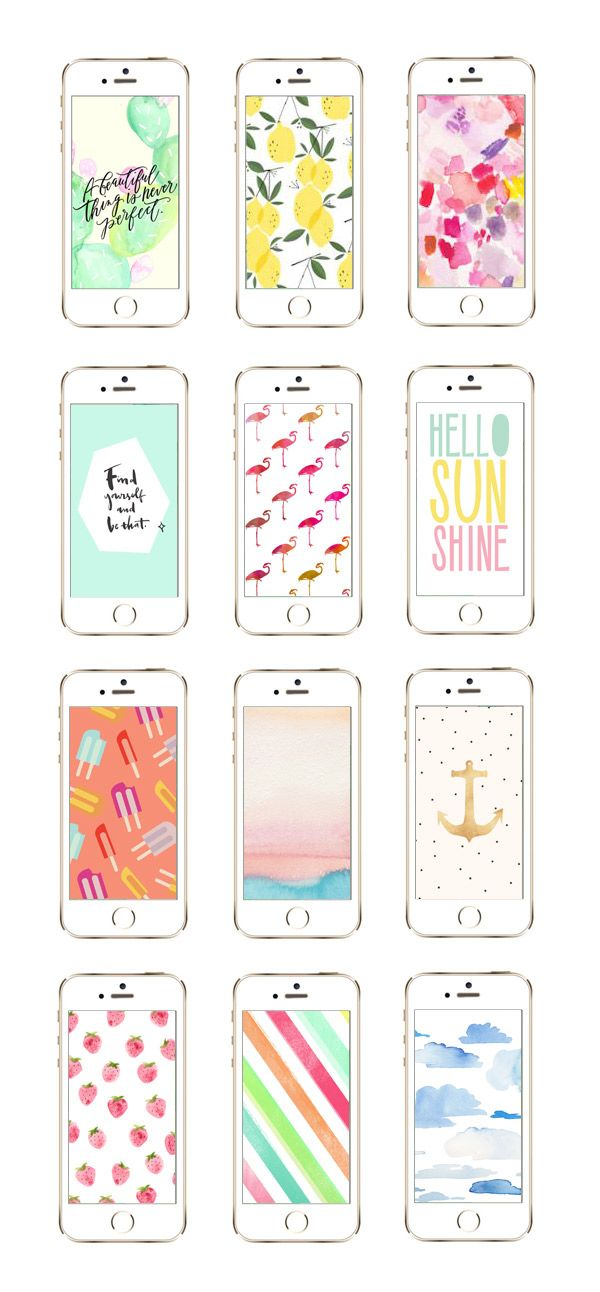 12 Awesome iPhone Wallpaper Designs from @cydconverse
