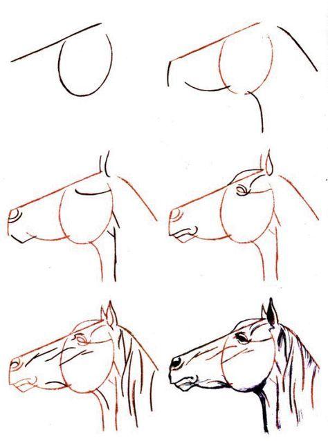 Comment dessiner un cheval facile plus plus dessins en - Comment dessiner un cheval facile ...