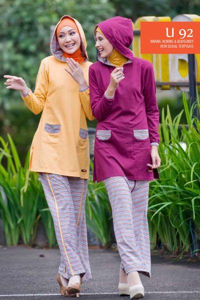 #Blus beraksen #hoodie dan bermotif #salur