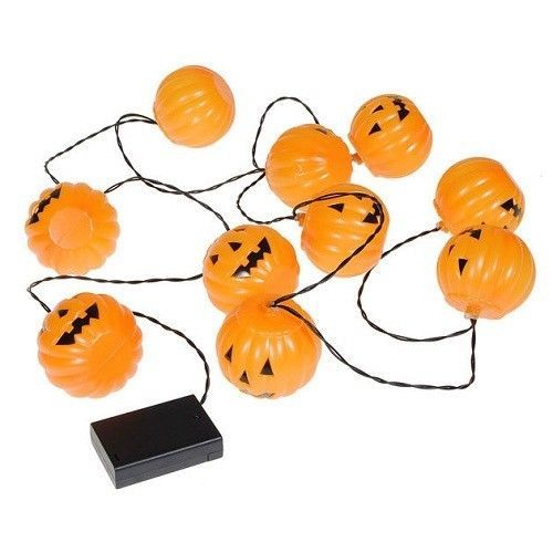 Halloween Pumpkin String Lights Set Decoration Bulb Hanging Home Decor Outdoor #Unbranded
