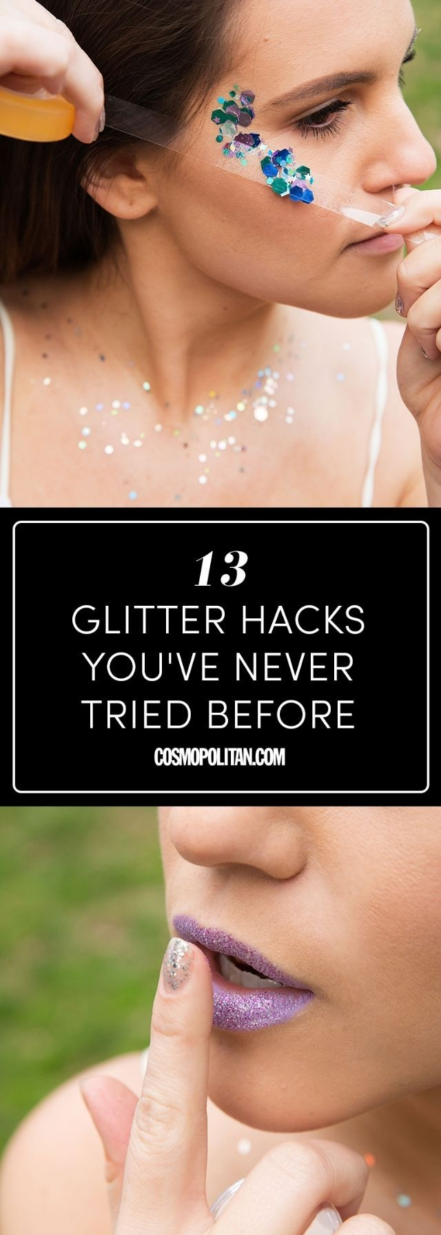 How to Wear Body Glitter — Tricks for Applying Glitter Makeup