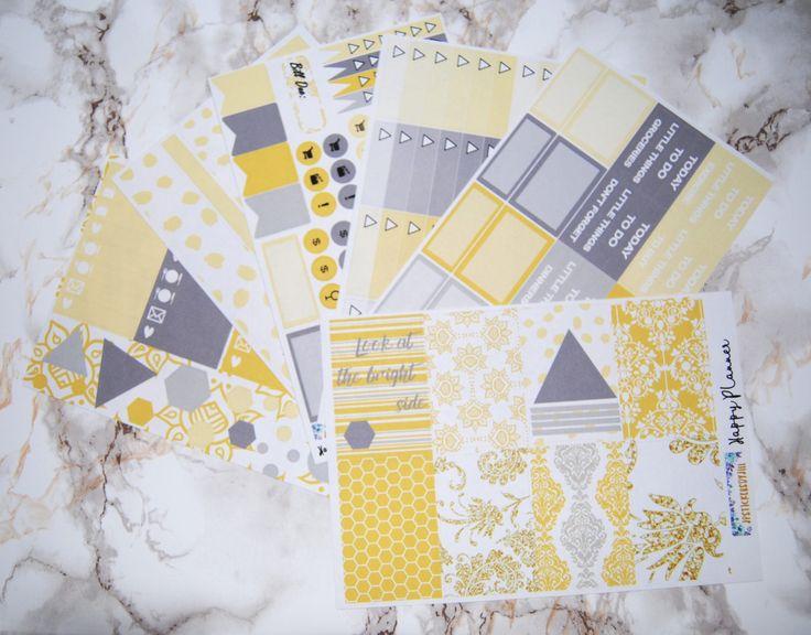 Happy Planner- Bright Side - Weekly Kit of Planner Stickers by jpstickersbyjill on Etsy https://www.etsy.com/ca/listing/520311311/happy-planner-bright-side-weekly-kit-of