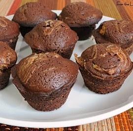 Peanut Butter swirl mini brownies | Food | Pinterest | Mini Brownies ...