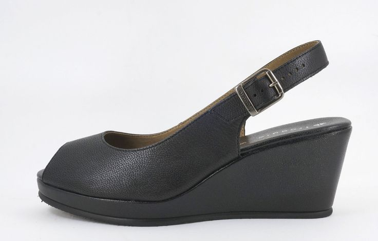 Froggie Medium Heel Black Handmade Genuine Leather Wedge Sandal R 999. Handcrafted in Durban, South Africa. Code: 10715.101-100 See online shopping for sizes. Shop for Froggie online https://www.thewhatnotshoes.co.za/ Free delivery within South Africa