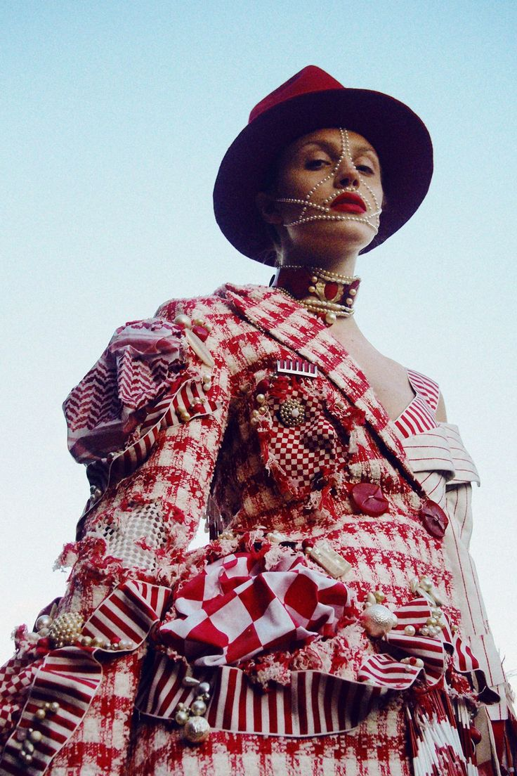 the csm students who didn't make the cut stage a fashion rebellion   watch   i-D
