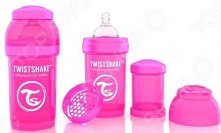 Twistshake антиколиковая  — 799р. ------------------------------ Бутылочка для кормления Twistshake антиколиковая верный помощник всех родителей. В вопросе кормления малышей следует быть крайне внимательными и аккуратными, так как их пищеварительная система работает недостаточно стабильно. Самой распространенной проблемой являются колики, приносящие ребенку крайний дискомфорт. С этими трудностями легко поможет справиться бутылочка с сеткой для смешивания. Она устранит комки и пузыри при…