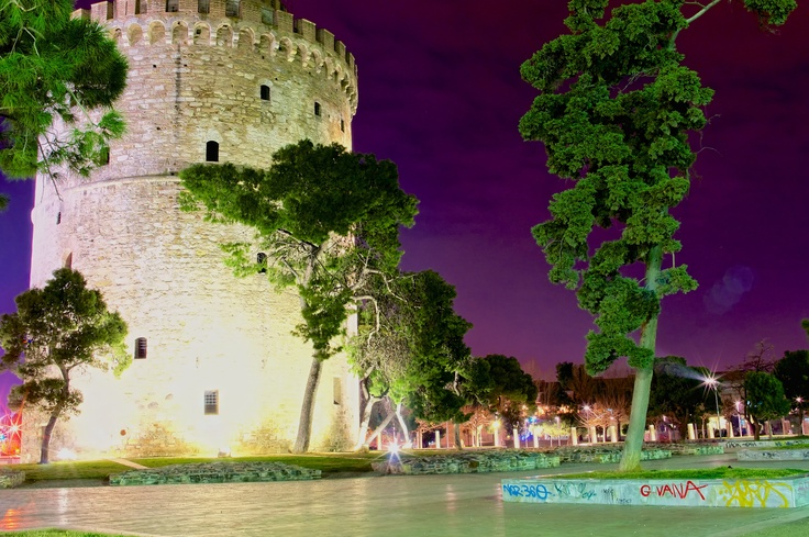 Thessaloniki White Tower........