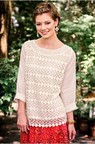 Bahia Top | Crochet top | shopgofish.com