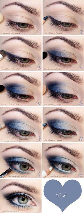 Passo a passo de como fazer uma maquiagem super rápida  www.tatianemxavier.com