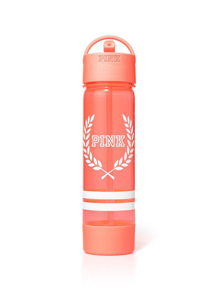 Campus Water Bottle - PINK - Victoria's Secret