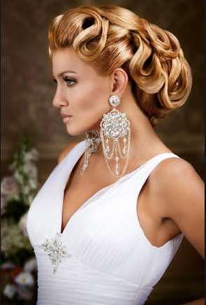 haistyle with bun wedding
