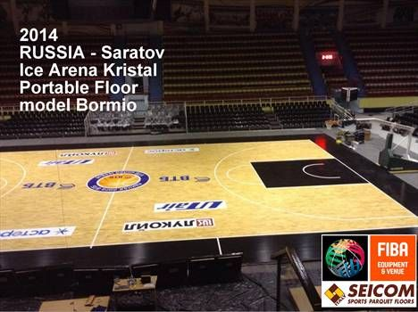 "RUSSRUSSIA  SARATOV, November 2014 - team - Avtodor, VTB LEAGUE  Arena - ice hockey arena ""kristall"""