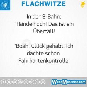 Flachwitze #291 - Überfall in der U-Bahn
