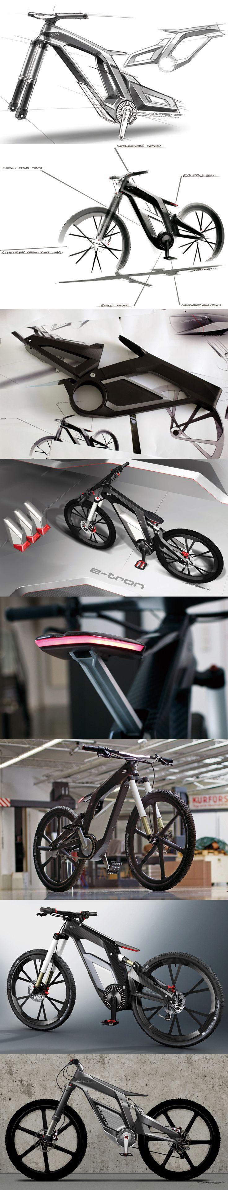 designing the audi e-bike worthersee