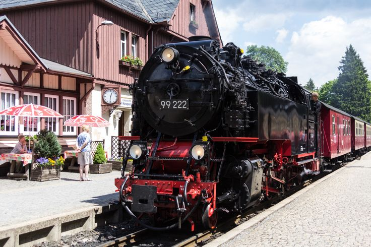 Harzquerbahn in Drei Annen Hohne - Pictures of Germany