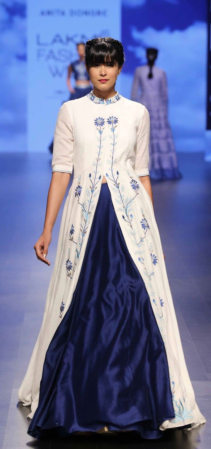 By designer Anita Dongre. Shop for your wedding trousseau, with a personal shopper & stylist in India - Bridelan, visit our website www.bridelan.com #Bridelan #aniitadongre #lakmefashionweek