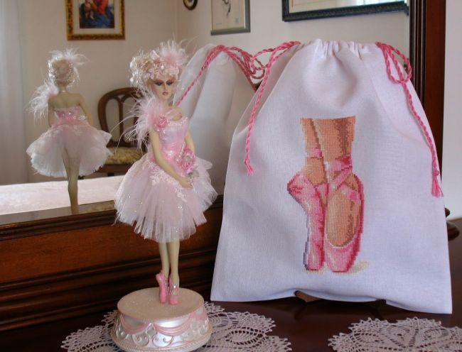 Passi di danza - sacco porta scarpette - Dall'album di Barbara69