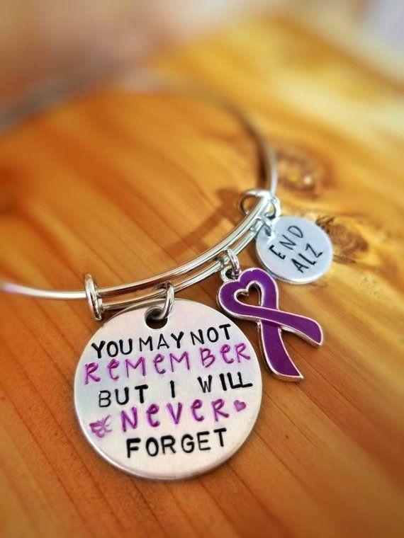 36b8c379831 Alzheimer Awareness Bracelet | Products | Awareness ribbons, Cancer ...