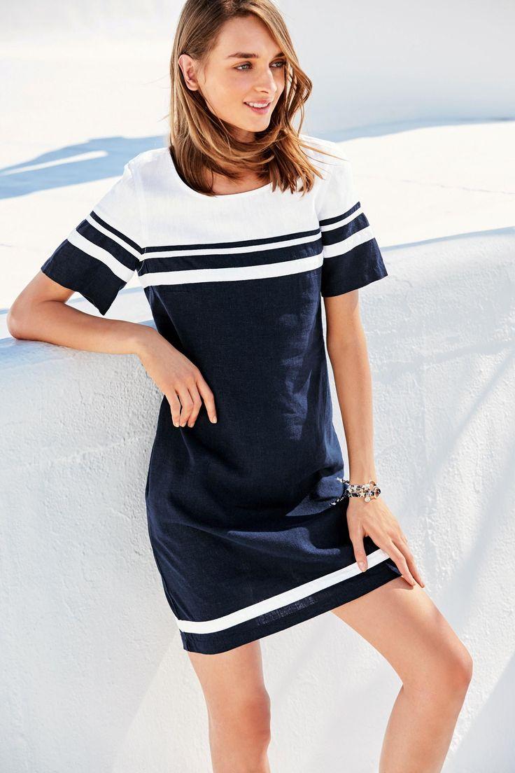 Buy Navy T-Shirt Dress from Next Taiwan
