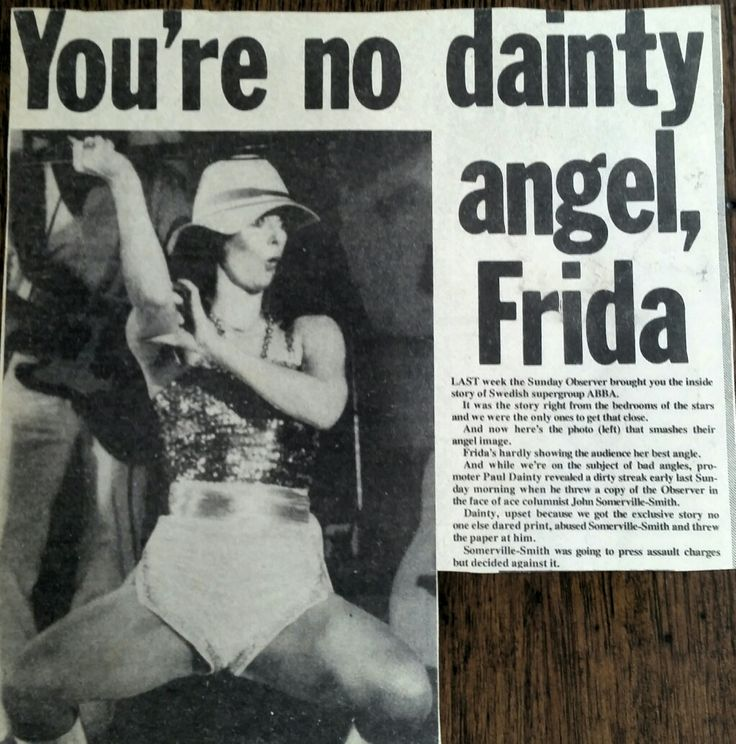 1977 Australian news article  in retaliation of the previous weeks 'kinky bed' article.