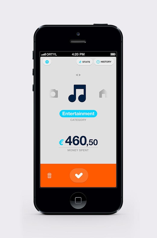 Simple Spending Control App