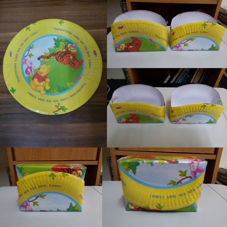 Paper plates container box