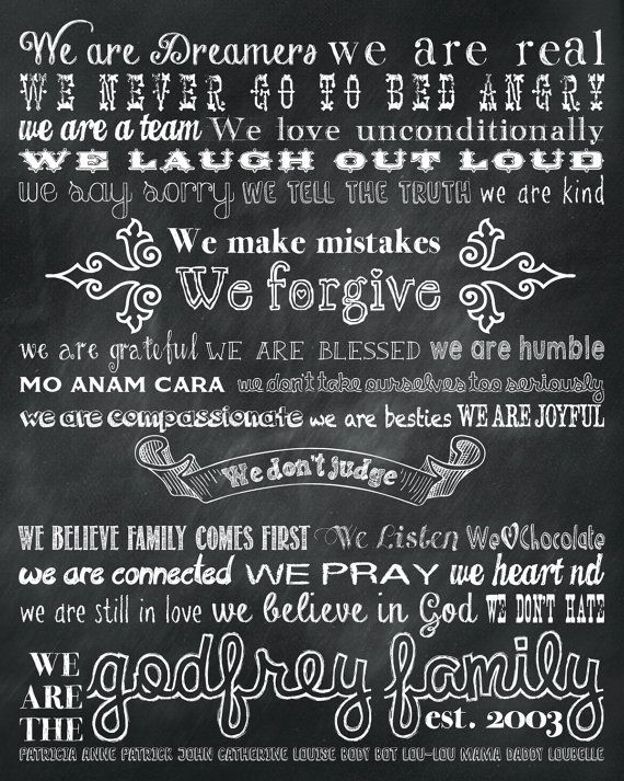 22 best Family Mission Statement images on Pinterest Family - inspiration 7 sample church vision statement