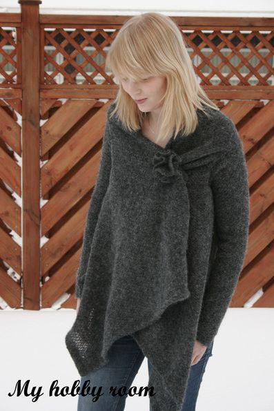 Simple Wrap Sweater