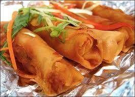 Lumpia..serve it w/ sweet chili sauce!