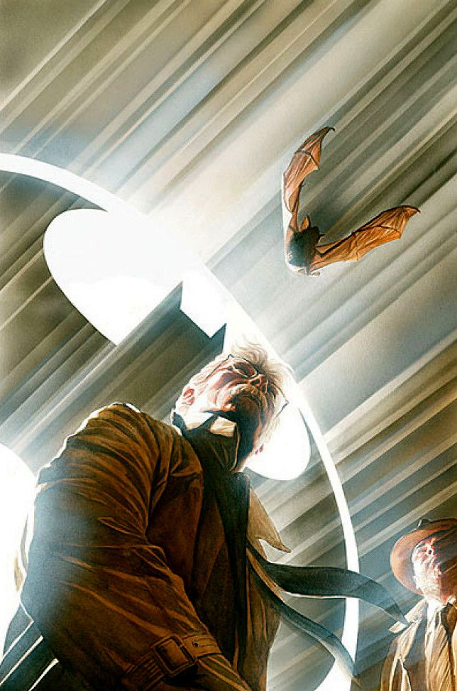 Commisioner Jim Gordon Alex Ross