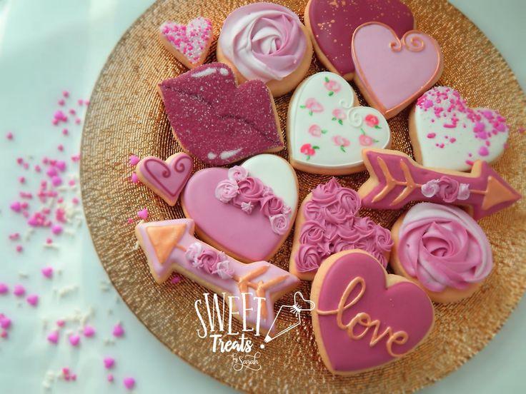 Gluten Free Valentine Cookies #glutenfree #valentinesday