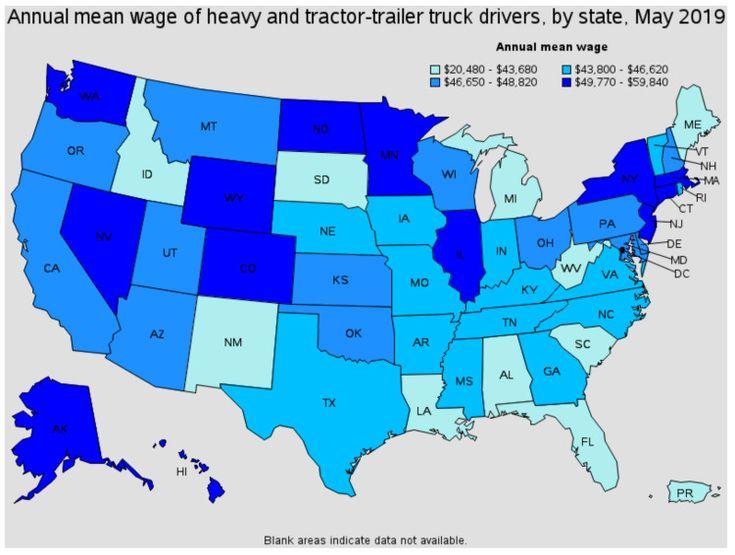 Can truckers earn over 100k truckerstraining in 2020