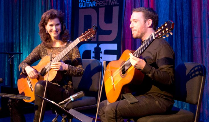 Julia Crowe's review of Sharon Isbin and Protégés at New York Guitar Festival in Classical Guitar Magazine.