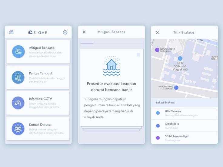 SIGAP, App for Disaster Prepareness by Anggit Yuniar Pradito