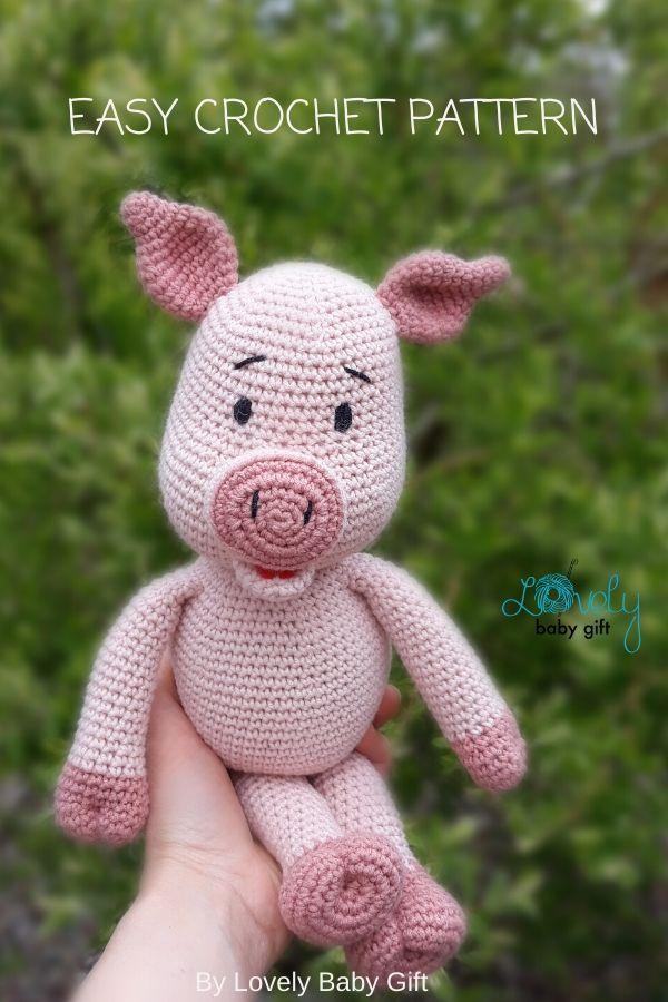 Crochet Along Pig | 900x600