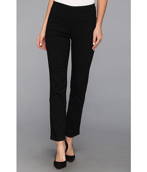 Miraclebody Jeans Judy Pull-On Ankle Jean in Black $10 ($86)