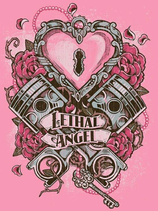 I Locked My Keys In My Car >> Girly piston tattoo | [ art ] drawings & tattoos♥ | Pinterest | Twists, Style and Angel