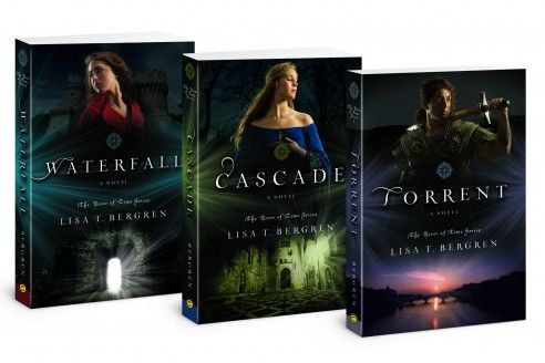 River of Time series by Lisa Bergren  A little romance, a little time travel, some action and some strong females!