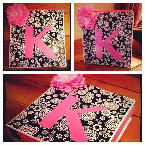 Cute binder designs. | Cute school supplies! | Pinterest ...