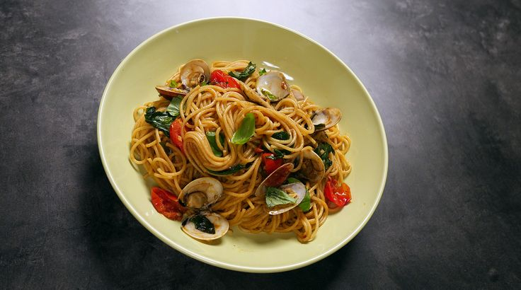 Try this quick and easy seafood pasta recipe by Sarah Benjamin.