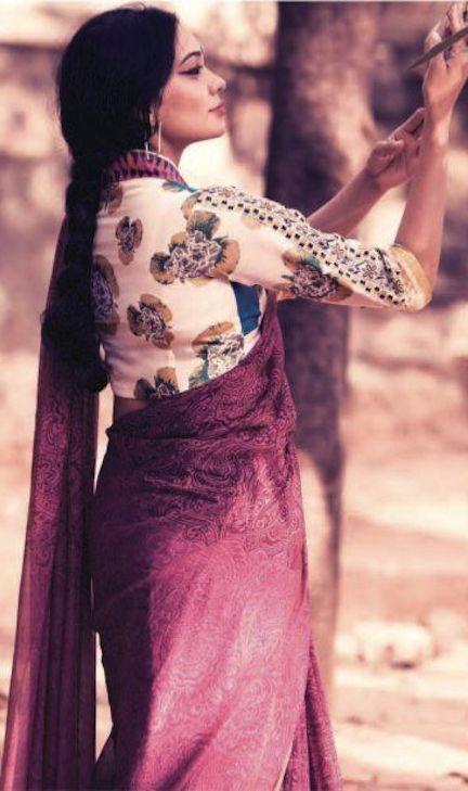 Calantha Wardrobe's Vintage Saree Collection - original pin by @webjournal