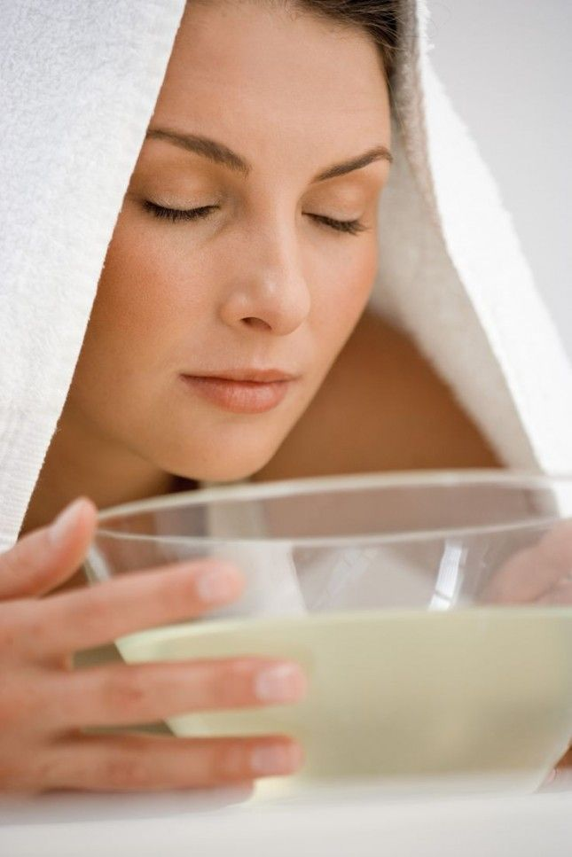 13 Simple Tricks to Get Clear Skin Overnight via Brit + Co. Put your face over a bowl of boiling water and let the steam moisturize it for two to three minutes. This helps in removing dirt, dust and oil from the pores of the skin without aggravating pimples