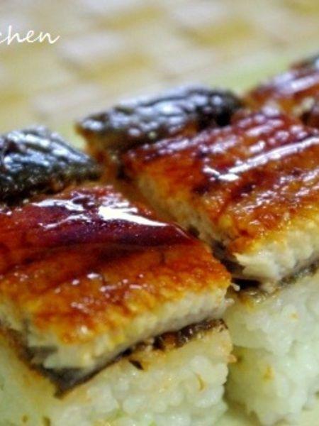 角皿で!簡単♪鰻の押し寿司 by Mayu* | レシピサイト「Nadia ...